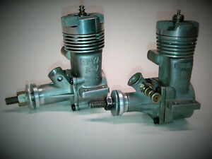 2 VINTAGE ENYA 19 ENGINES, 1-19V #4005 AND 1-19 #4003 BOTH EXCELLENT