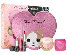 Too Faced Kat Von D BETTER TOGETHER Cheek & Lipstick Set w/ Makeup Bag New~