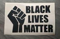 Black Lives Matter BLM Support Vinyl Decal Sticker Wall Window Bumper Laptop
