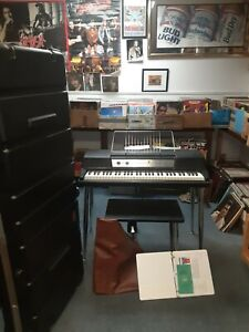 Wurlitzer Model 200A Electronic Piano WithLegs,Bench,Cover,Case,Paperwork NICE