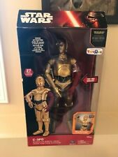 Star Wars Collector's Edition C-3PO Talking Interactive Robotic Droid Toy SEALED
