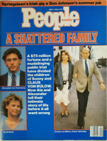 People Weekly June 17 1985 Shattered Family Sunny Claus Von Bulow - No Label EX