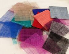 HATS2GO COLOUR SAMPLE OF SINAMAY TO MATCH OUR MILLINERY TO YOUR OUTFIT.