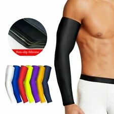 1Pcs Breathable Quick Dry UV Protection Running Arm Sleeves Basketball Elbow