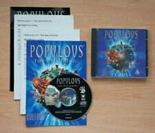 Populous The Beginning - Jewel case and documentation - UK release - PC CD-ROM