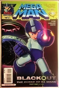 MEGA MAN COMIC BOOK #29 November 2013 CURSE OF RA MOON Pt 1 Bagged Board NM