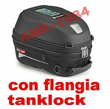 BORSA SERBATOIO GIVI ST603 DUCATI MONSTER 696 796 + FLANGIA BF09 TANKLOCK 15LT