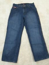 US Polo Assn Boy's18 Carpenter Jeans Denim Red Tag Cotton Relaxed Baggy Fit Dark