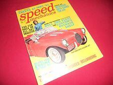 Speed Mechanics '61 nostalgia customs show street cars souping up hot rods drag