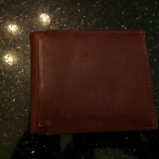 BELLA da Uomo Marroni in Pelle Portafoglio con porta carte di credito