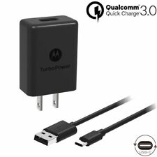 2 Pack Motorola TurboPower 15+ QC3.0 Charger for Moto Z, Z2F, Z3, Z4, G6, G7
