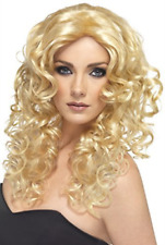 Glamour Wig, Blonde, Long, Curly (US IMPORT) COST-ACC NEW
