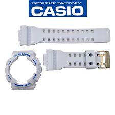 Casio G-Shock Original GA-110SN-7A White Watch Band & Bezel Rubber Set