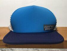 61fad2176c2b3 Patagonia Duck Bill Trucker Hat Lapiz Blue White Strapback Men s Hat ...