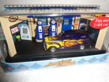 AMERICAN GRAFFITI MOTOR MAX 1940 40 FORD SEDAN DELIVERY TIME CASE FIGURES FLAMES