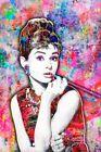 AUDREY HEPBURN 12x18inch Poster Audrey Hepburn Tribute Print Free Shipping US
