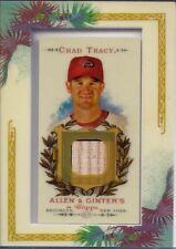 CHAD TRACY 2007 Topps Allen & Ginter BAT Framed Mini RELIC Diamondbacks