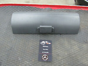 00-06 Mercedes W220 Left/Right Front Seat Compartment Lid BLACK 2209180630