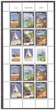 Aruba 2015 Toerisme Tourism Church Cruise ship Lighthouse MNH sheet