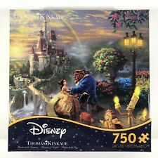 Thomas Kinkade Disney Beauty and the Beast 750 Pieces Ceaco Puzzle
