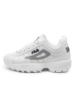 New Fila Disruptor Ii Monomesh Wht Womens Shoes Casual Sneakers Casual