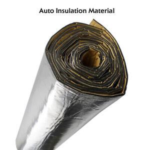 Car Heat Shield Sound Deadener Engine Hood Exhaust System Thermal Barrier 1Mx1M