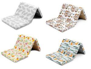 Premium Baby 120x60 cm  Travel Mattress  Folding Playmat Camp 4 Colours +BAG