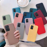 Shockproof Slim Soft Silicone TPU Case Cover For Samsung Galaxy Note 20 A21S A41