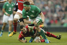 CJ Stander, Munster & Ireland rugby union, signed 12x8 inch photo. COA.