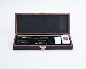 UGC66W Universal 17 Piece Gun Cleaning Kit, Real Wood Storage Box