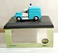 OXFORD COMMERCIALS 1:43 SCALE MORRIS MINOR POLICE VAN - P008 - BOXED