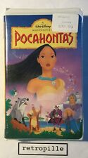 Pocahontas,Walt Disney,Masterpiece,Vhs,englisch,Selten,Neu,Rare,OVP,New,Selten