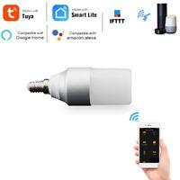E14 WiFi Smart LED Ampoule Tuya / Smart Life APP TéLéCommande Dimmable 5W R Q4R4