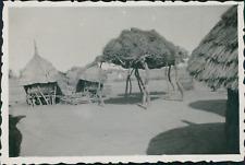 Burkina Faso, Bili Bambili, greniers à mil Vintage silver printPhotographie ap