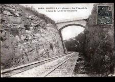 MOUCHARD (39) Voie FERROVIAIRE , Ligne de LONS-le-SAUNIER en 1931