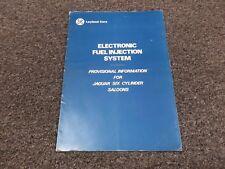 Jaguar XJ6 4.2L Jetronic Electronic Fuel Injection System Service Repair Manual