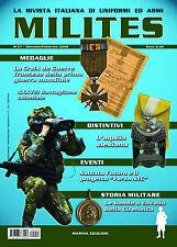 MILITES n27 - rivista militaria magazine Cirenaica Gatti Neri Alpini Croix