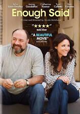**Enough Said (DVD, 2014, Audio English &Francais)James Gandolfini Toni Collette