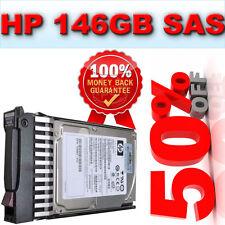 "Hp 146GB 10K SAS de 2,5 ""disco duro disco 432320-001 431954-003 Para Dl380 g5/g6/g7"