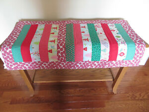 quilted Christmas tabletopper