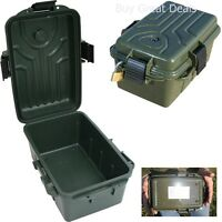 Dry Box Case Olive Drab MTM Survivor Plastic Built In Compass Rothco 9099
