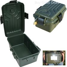 NEW Dry Waterproof Storage Ammo Box Camping Hunting Fishing Survival Case Green