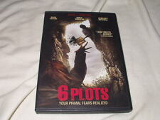 6 Plots (DVD, 2016) Horror Creepy Your Primal Fears Realized Eliza Taylor