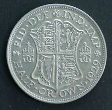 Great Britain 1929 Half Crown , Extremely Fine