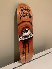 BROCKMAN - RAZOR EYE 8.375 - Zero Skateboards 💀