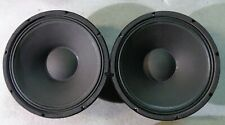 """1 PAIR (2) Eminence 15"""" Woofer Driver 151202 8 Ohm 804038"""