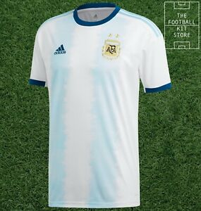 adidas Argentina Home Shirt Mens - AFA Football Jersey - All Sizes