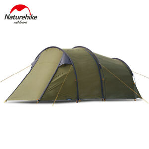 2 Man Two Person Camping Tent Waterproof Tunnel Hoop Bike Motorcycle Touring Pro