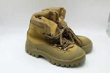 Used Mountain Combat Hiker Vibram Sole Military Boots, Made in the USA Size 9.5R