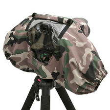 Camera Rain Cover Coat Bag Protector Waterproof Against Dust For Canon SLR US !